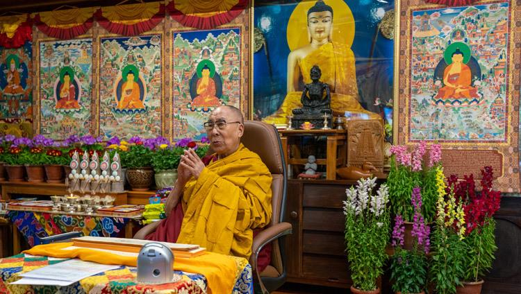Journée de la pleine lune du Grand Festival des Prières 2021-02-27-Dharamsala-N02_JAM6131