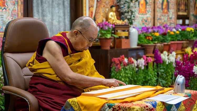 Journée de la pleine lune du Grand Festival des Prières 2021-02-27-Dharamsala-N06_JAM6287