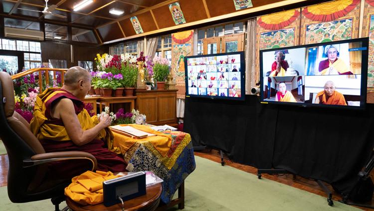 Journée de la pleine lune du Grand Festival des Prières 2021-02-27-Dharamsala-N08_JAM6346