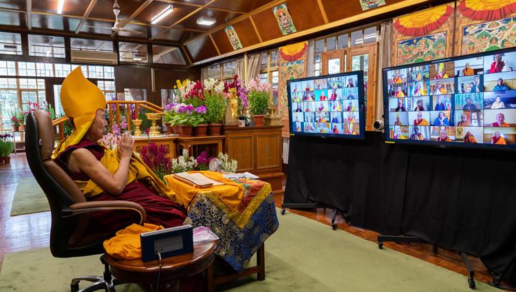 Journée de la pleine lune du Grand Festival des Prières 2021-02-27-Dharamsala-N10_JAM6400