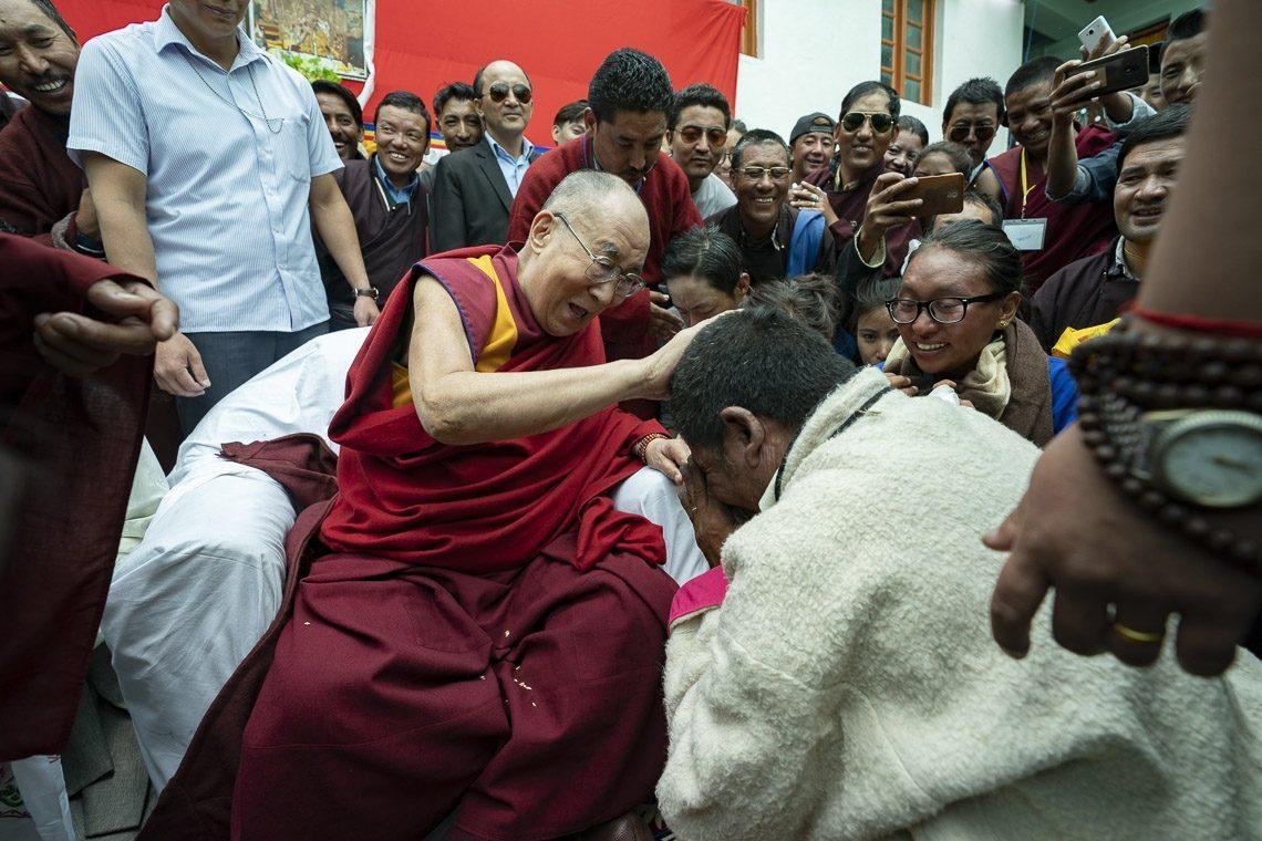 Le Dalaï-Lama à la LMHS